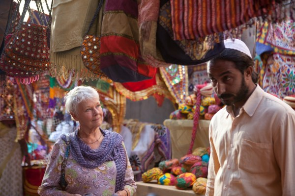 The Best Exotic Marigold Hotel Judi Dench film sinema Hint Hintli Hindistan