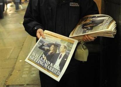 ücretsiz gazete akşam London Evening Standard