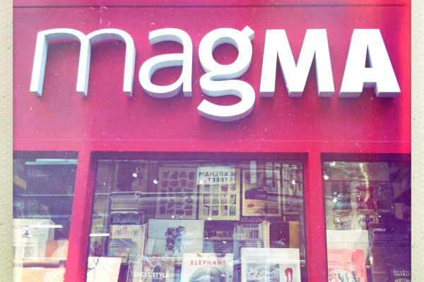magMA Covent Garden dergici mağaza dükkan afiş poster