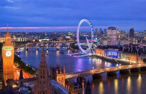 London Big Ben saat kulesi London Eye dönmedolap Waterloo Westminster eski tarihi Londra