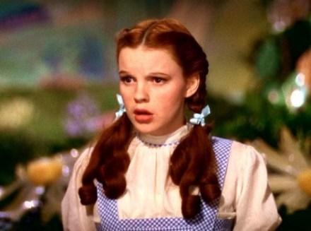 "Judy Garland ""Dorothy"" rolünde..."