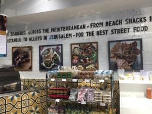 Sesame Otto Lenghi atıştırmalık Ortadoğu Orta Doğu Lübnan İsrail Covent Garden lokanta dükkan gıda yiyecek yemek ayaküstü atıştırmalık öğle yemeği