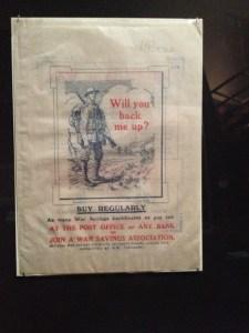 İngiliz asker Propaganda sergi British Library eski tarih tarihi İngiltere Birleşik Krallık Büyük Britanya ordu para tasarruf nostalji nostaljik