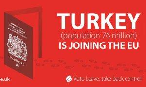 Brexit İngiltere AB'den çıkma referandumu Avrupa Birliği üyesi kampanya Vote Leave Türkiye müzakere