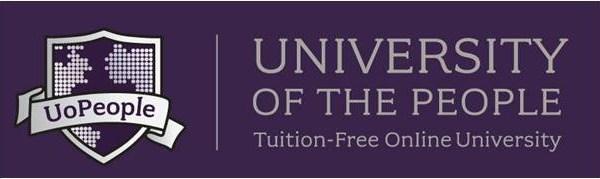 University of the People logo online üniversite ücretsiz internet eğitim lisans