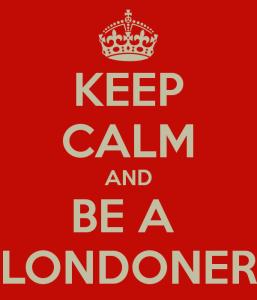 Keep Calm and Be a Londoner afiş poster Londralı Londra London