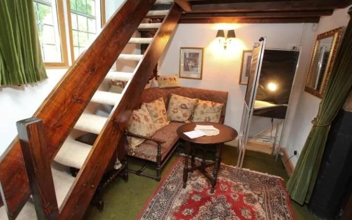 merdiven altı seçim sandığı