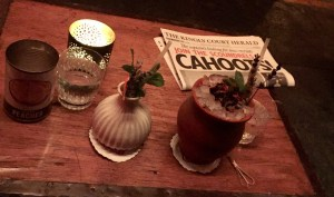 cocktail o'clock @ Cahoots