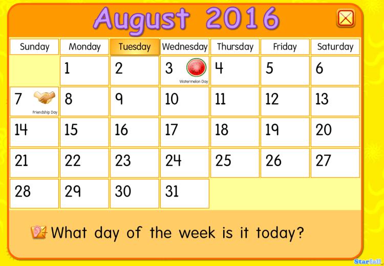 Rutina diaria: La fecha