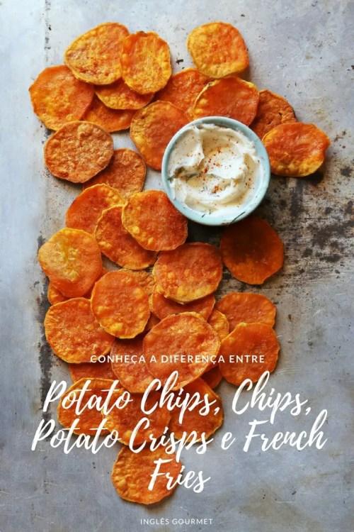 A diferença entre Potato Chips, Chips, Potato Crisps e French Fries | Inglês Gourmet