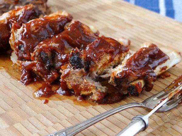 Receita de Barbecue Pork Ribs (Costelinha Barbecue) | Inglês Gourmet