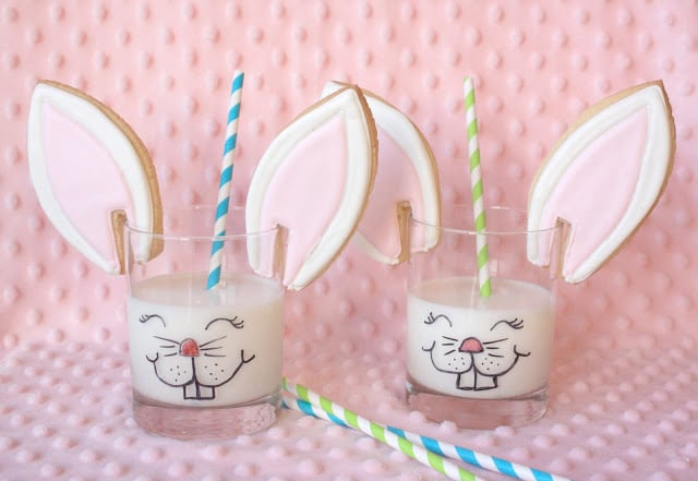 bunny ear cookies munchkinmunchies