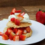 Receita de Strawberry Shortcake