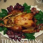 """Assine a Newsletter e ganhe o eBook """"Receitas de Thanksgiving"""""""