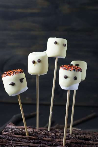Fantasminhas de Marshmallow | Inglês Gourmet