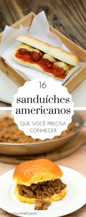 16 sanduíches americanos que você precisa conhecer | Inglês Gourmet