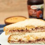 Receita de Peanut Butter & Jelly Sandwich