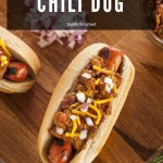 Receita de Chili Dog