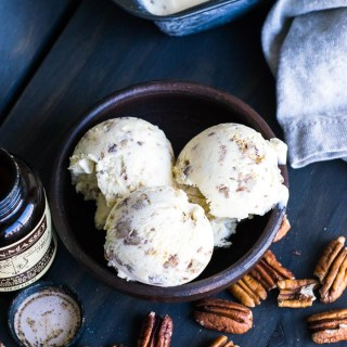 Receita de Butter Pecan Ice Cream   Inglês Gourmet