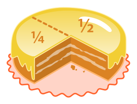 fractions in English