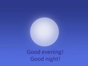 evening night diferenca