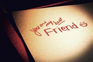 best friend - melhor amigo