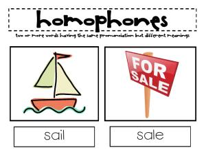 homófonos em inglês