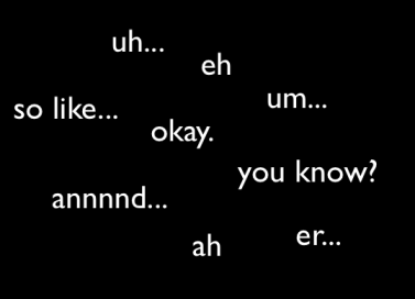 filler words em inglês