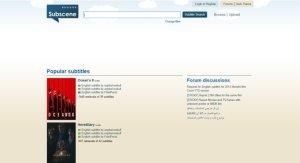 site para legendas em inglês - subscene