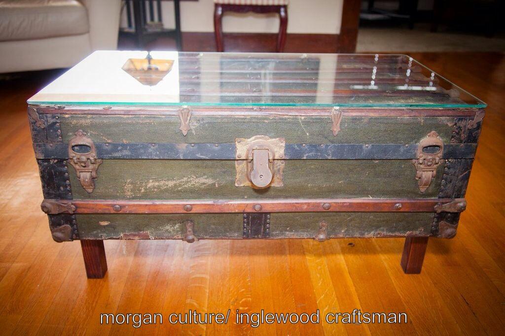 steamer trunk inglewood craftsman home