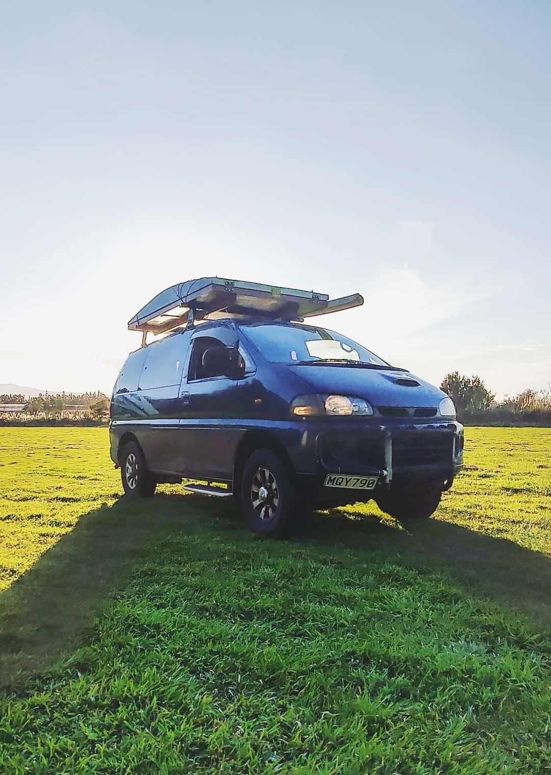 Campervan Conversion: Mitsubishi Delica 4WD