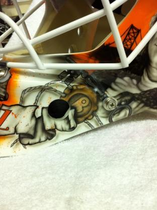 Bryzgalov Flyers Mask by Drummond 7
