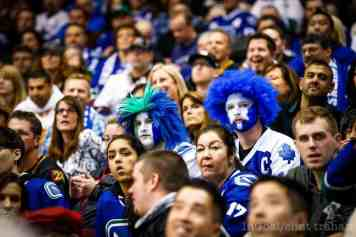 Is anything sadder than face painted dejection?