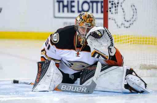 The Ducks' Frederik Andersen may be trade bait at the deadline.