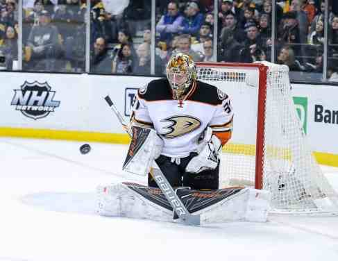 Denmark's Frederik Andersen joins Team Europe for the World Cup of Hockey in September 2016.