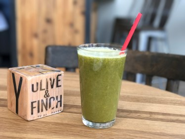 What's In Good Taste January - The Rise and Shine drink at Olive and Finch
