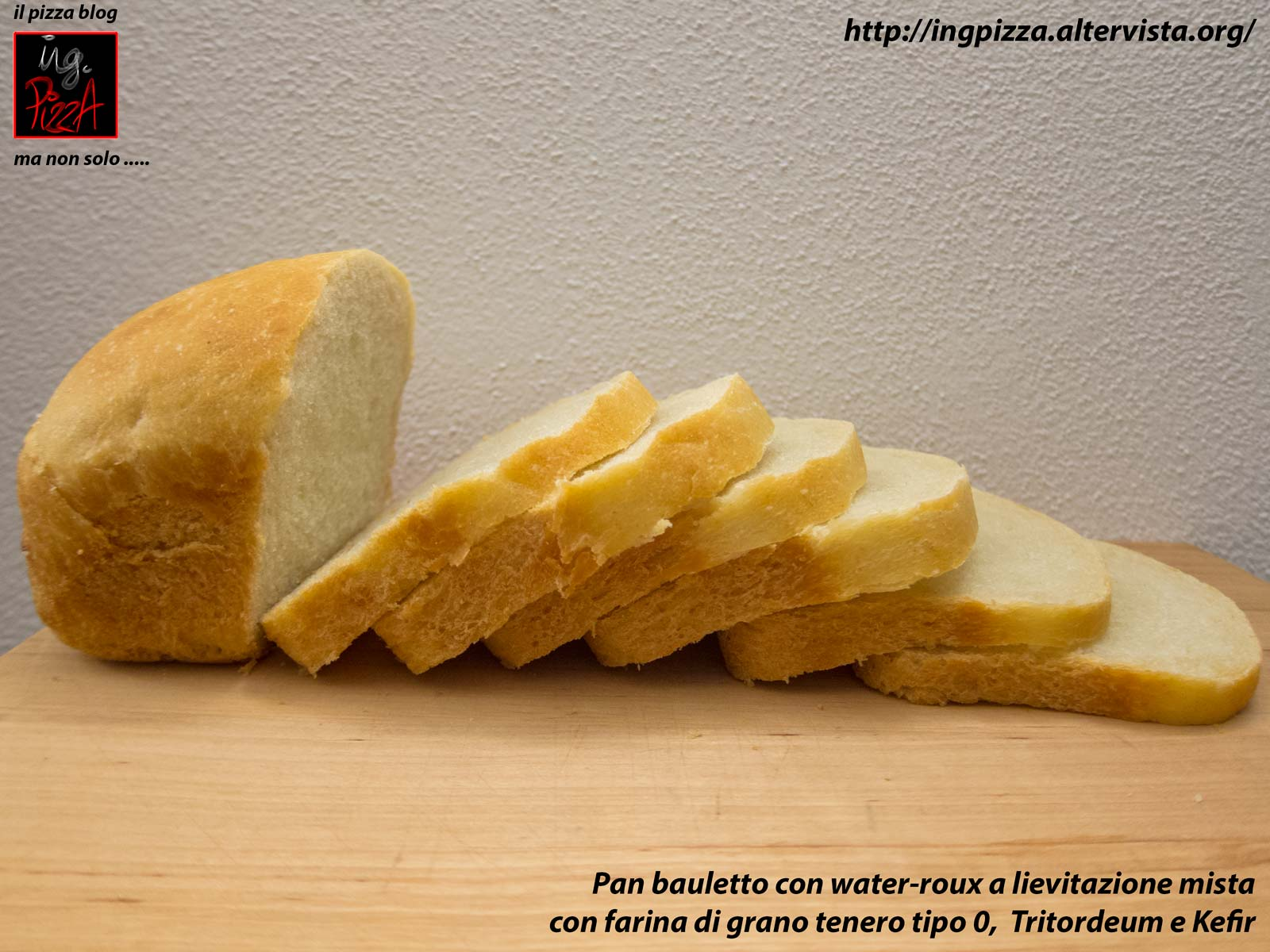 PAN BAULETTO CON WATER ROUX