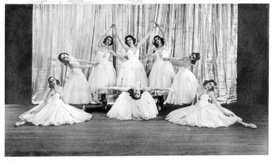 """Miss Mary Alice"" Ingram Callahan (second from the right)"