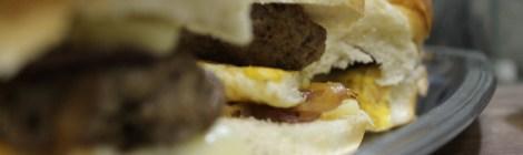 Hambúrguer de paleta com cachaça