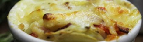 Batatas assadas com alecrim