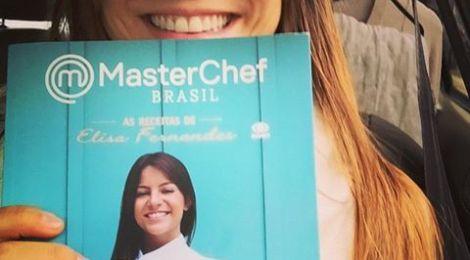 Master Chef Brasil Elisa Fernandes lança livro em BH