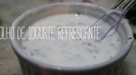 Molho de Iogurte Refrescante