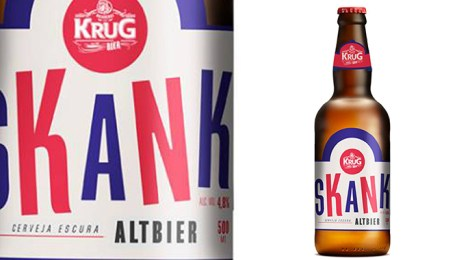 Skank entra por hall das engarrafadas e lança cerveja