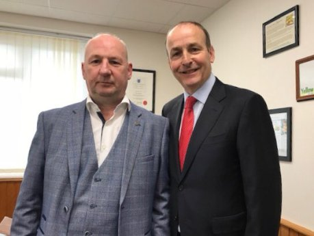 Fianna Fáil leader visits Ingredient Solutions