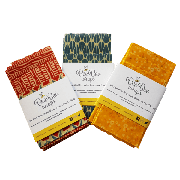 Bee Bee Reusable Food Wraps