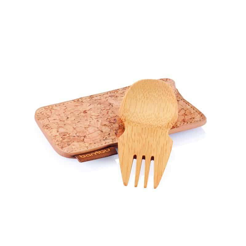 Bambu Spork and Cork Case