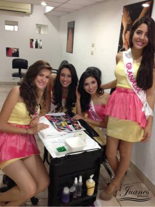 Salon de belleza en Managua, Visita Oficial de las Candidatas a Miss Teen Nicaragua 2013 2 (4)