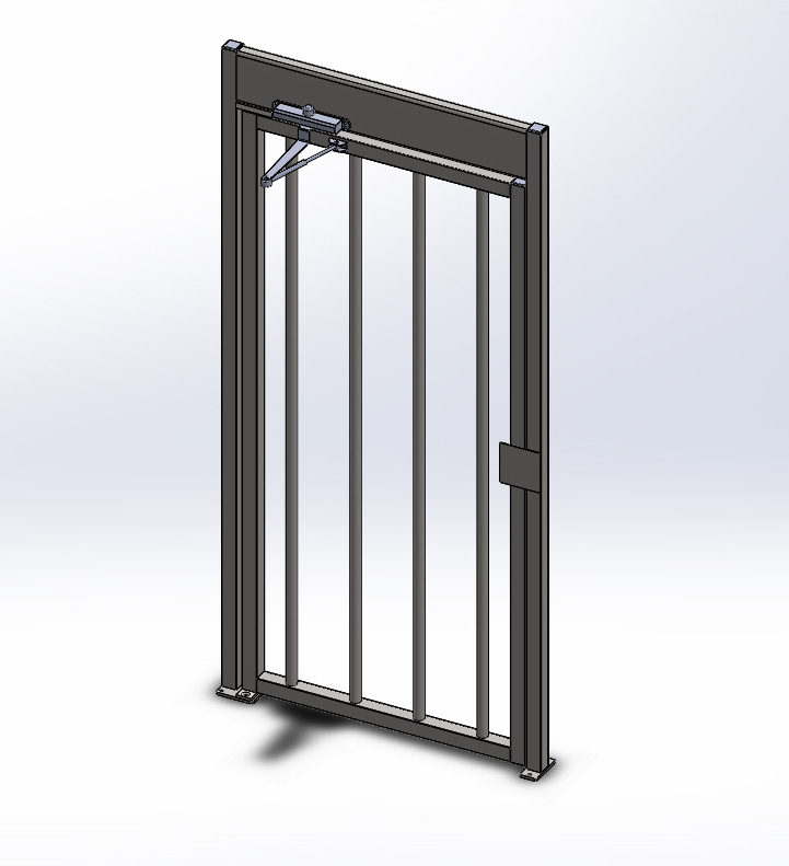 Full Height ADA Access Gate