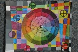 Ingrid's colour wheel