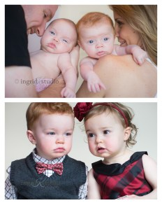 Kamryn & Jake {then newborn, now 2}
